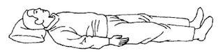 Комплекс лежачих упражнений