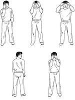 Упражнение из шестнадцати этапов для защиты зрения